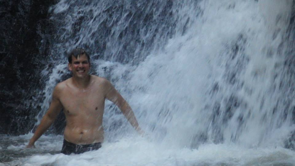 Stephen in Daintree National Forest in Australia