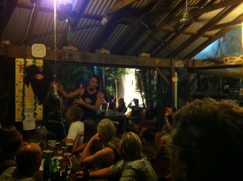 Travellers Oasis BBQ in Cairns, Australia
