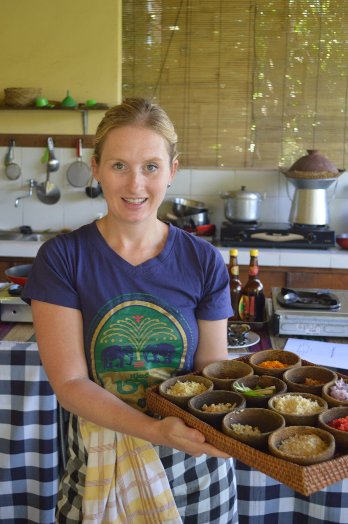 Shannon at Payuk Bali Cooking School